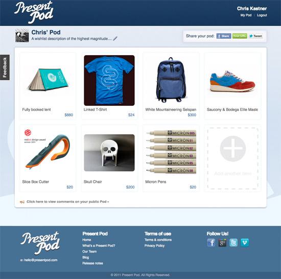Present Pod Website
