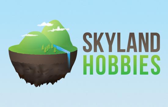 Skyland Hobbies branding