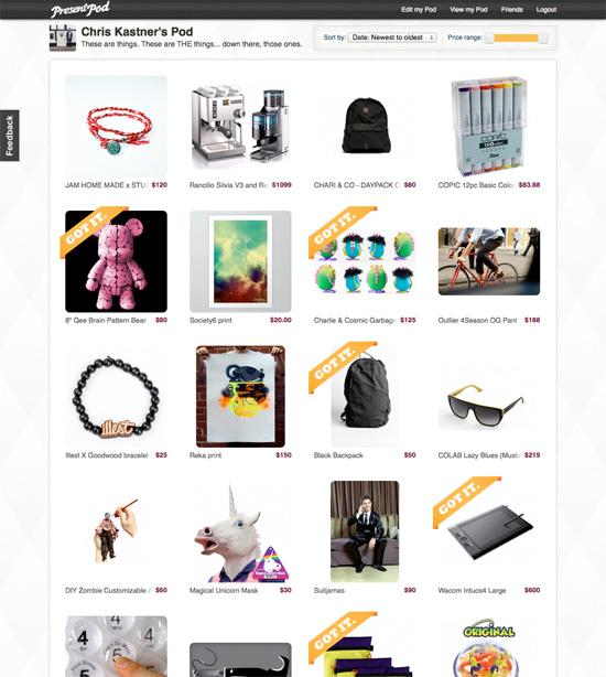 Present Pod website v2