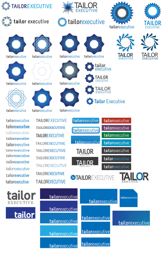 Tailor Executive branding