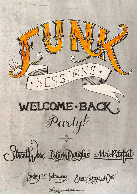 Funk Sessions 2014 Poster