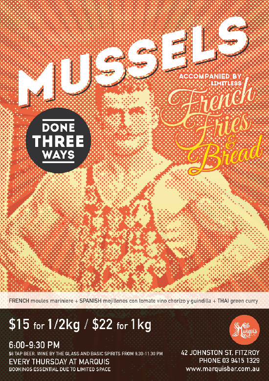 Mussels Promotional Poster